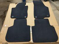 New-Sealed Genuine Volkswagen 2012 to 2019 Passat 4 Piece Floor Mat Set Black VW