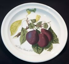 "Portmeirion ""Pomona"" Dinner  Plate "" The Reine Claude Plum"" 10.5"""