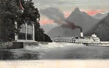 DIE TELLSKAPELLE VIEWWALDSTATTERSEE SWITZERLAND STADT MAILAND SHIP POSTCARD