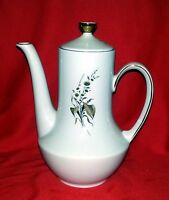 "Winterling Bavaria Brown Daisy Pattern - Teapot with Lid - 9"" Tall"