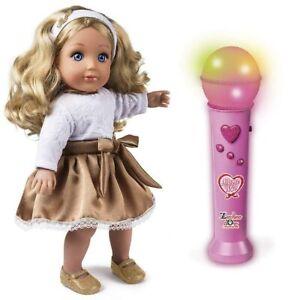 Bambola Amore Mio Zecchino D'oro con Microfono Bambini Luci Suoni e Testi Canzon