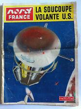 Nord France 17/08/1955; La soucoupe volante US/ La Baule/ Dior en Sorbonne