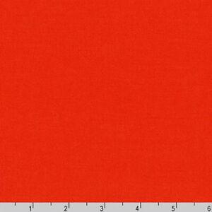 By Yard- Arietta Ponte De Roma Knit Robert Kaufman Fabric A165-323 FLAME Orange