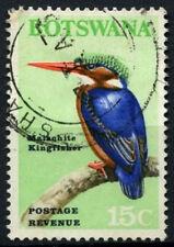 Botswana 1967 SG#227, 15c Bird Definitive Used  #D48938