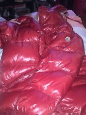 Womens Red Moncler Size M