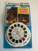 View Master 3D Tour CARLSBAD CAVERNS Reels  3 reels 21 pictures new