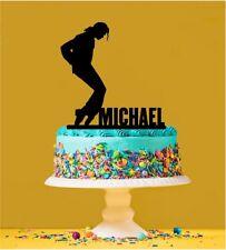 Personalised Michael Jackson Cake Topper