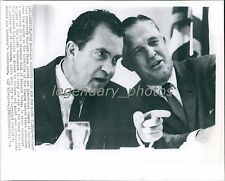 1964 Richard Nixon Supports More Aid for South Korea Original New Service Photo