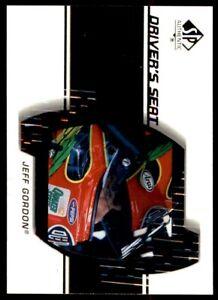 2000 SP Authentic Driver's Seat #DS6 Jeff Gordon *226