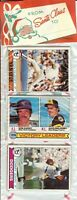 1979 Topps Baseball Holiday Christmas Rack Pack Ozzie Smith Rookie RC? D-5