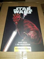 Bd comics Star Wars Histoire galactique tome 4 (240 pages) Neuf dark maul