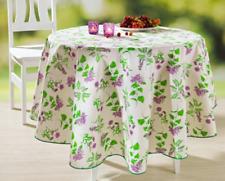 Landhaus Küchen Tischdecke 140 x 180 cm Lavendel Dekor Retro Vintage *A-Ware