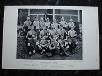 RARE Original Famous Footballers, #137 Harlequins Rugby Team 1895 - 96