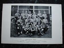 Rare original célèbres footballeurs, #137 harlequins rugby team 1895 - 96
