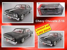 Chevy Chevelle z-16 limité à 1.002 Pièces Auto World 1:18 neuf dans sa boîte NEUF