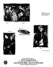 Oui 73 Band Promo Photo Buffalo New York We Princess S*x Bullets Fire Engines