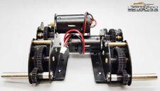 Neu ! Stahl Getriebe 4:1 mit 390 Motoren lange Achse für Königstiger Panzer 1:16
