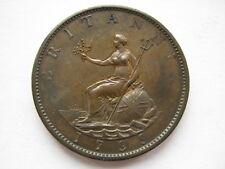 1799 George III Halfpenny GVF Antiguo limpieza Bmc 1248