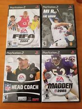 MLB 07 The Show * Madden 2005 * Head Coach * FIFA Soccer 2004 Playstation 2 LOT