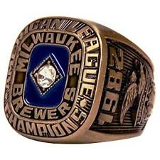 2017 MILWAUKEE BREWERS 1982 AMERICAN LEAGUE CHAMPIONSHIP RING REPLICA ~ NEW