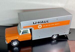 "Vintage 1970's Nylint Pressed Steel UHaul Moving Box Truck Large 19"""