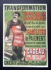 Publicité TRANSFORMATION DU TISSERAND TISSUS MEUBLES CHAUSSURES  advert