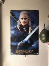 Lord Of The Rings ~ Two Towers Legolas Sword 22x34 Movie Poster Orlando Bloom