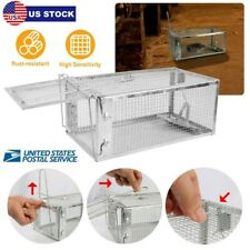 Hot Humane Rat Trap Cage Live Animal Catcher Mouse Pest Rodent Control No Kill