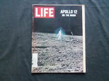 1969 DECEMBER 12 LIFE MAGAZINE - APOLLO 12 MOON WALK - L 1725