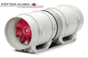 Helios Rohrventilator Typ: MVZ 100 B, 230V, 240 m³/h  *Neu / OVP*