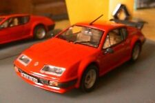 RENAULT ALPINE A310 V6 PACK GT ROUGE UNIVERSAL HOBBIES 1/43 ROSSO RED ROT