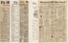 Paper Pack-Decoupage-Bastelpapier-Softpapier-Shabby-Vintage-Zeitung-18004