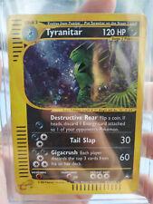 Tyranitar Holo N° H28/h32 EN 120 Pv Pokemon Aquapolis Etat Correct