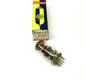 E88CC Gold Pins  NOS  Valvo Holland  Valve Tubes
