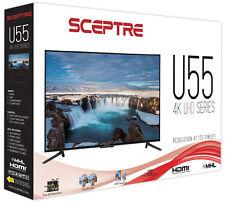 "55 Inch 4K Flat Screen TV Sceptre 55"" Class 4K (2160P) LED TV"