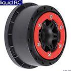 Pro-Line 2715-04 Sixer 2.2/3.0 Red/Black Bead-Lock R Wheels 2 : SLH