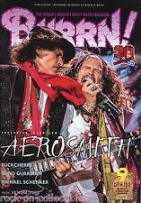 Burrn! Heavy Metal Magazine September 2015 Japan Aerosmith MSG Rush Aldious