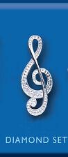 Echtschmuck aus Sterlingsilber mit Diamant