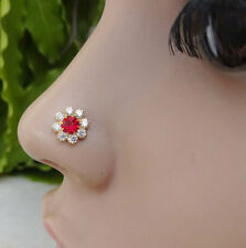 Special Mother Day,Indian Nose Ring,Medusa Piercing,Nose Stud,Valentine's Day .