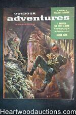Outdoor Adventure Feb 1957 Harlan Bode, William Faulkner, Pancho Villa - Ultra H