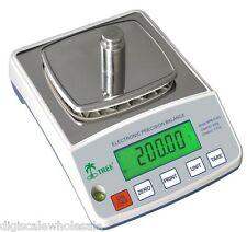Top Loader Balance Scale Tree HRB 1002TL High Resolution Weigh 1000g x 0.01g