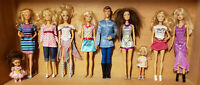 BARBIE: A LOT OF DOLLS ACCESSORIES CLOTHING PLAYSETS; Mattel
