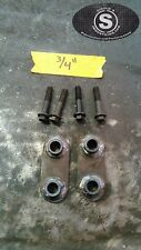 """1984-2001 Jeep Cherokee XJ Hood Spacer Kit With Hardware. 3/4"""" Spacers"""