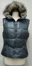 Brave Soul Womens Waistcoat Faux Fur Bodywarmers  Quilted Padded Jacket Size 12