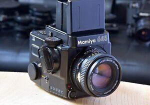 Mamiya M645 Super WLF 120 Back 80mm F2.8 EXE+++, beautiful