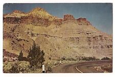 PICTURE GORGE John Day Country Hwy 28 Indian Writing Fossil OREGON Postcard OR