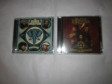 The Black Eyed Peas Elephunk 2004 Monkey Business 2005 CD Lot Set BEP excellent