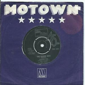 Jackson Five:The boogie man/Don't let your baby catch you:UK Tamla Motown:1973