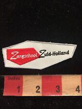 Zangschool Zuid-Holland / Netherlands School Patch 85P8