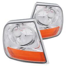 For Ford F-150 97-03 Turn Signal/Corner Lights Harley Davidson Style Chrome